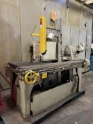 MARVEL Series 8 Vertical Bandsaw, s/n 89917, (H25)