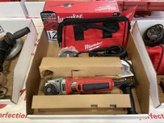 "NEW MILWAUKEE 6146-30 4-1/2"" Electric Grinder"
