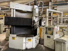 "GIDDINGS & LEWIS 60"" Vertical Turret Lathe, s/n 543-43-77, w/ NUMERIPATH Series A Control, 60"" Table"
