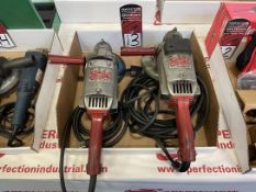 Lot of (2) MILWAUKEE 6054 Electric Grinders