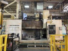 """MITSUBISHI M-VT20A CNC Vertical Boring Mill, s/n R57070, w/ FANUC 16-T Control, 78.7"""" Table Dia,"""