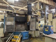 "GIDDINGS & LEWIS 48"" CNC Vertical Boring Mill, s/n 512-67-77, w/ FANUC 0i-TD Control, 48"" Table"
