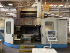 2001 OLYMPIA V60-2 CNC Vertical Turning Center, s/n OE-2001-375, w/ FANUC 18i-T Control, 70""