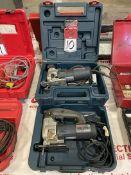 Lot Comprising BOSCH B4200 and BOSCH 1584AVS Electric Jigsaws