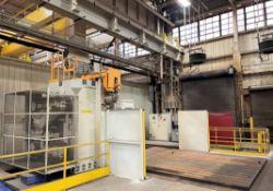 2016 MITSUBISHI MAF150S-C CNC Traveling Column Horizontal Boring Mill, s/n 3MAA026, w/ FANUC 31i-