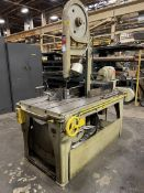 MARVEL No. 8 Vertical Bandsaw, s/n 84214, 6-Speed, 40-200 FPM, 1 HP, (H25)
