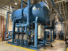 INDUSTRIAL STEAM Complete Boiler Water Treatment and Feed System Featuring Deaerator and Feed
