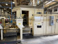 GIDDINGS & LEWIS 2200 Orion Horizontal Machining Center, s/n 592-0102, Numeripath 8000B Control,