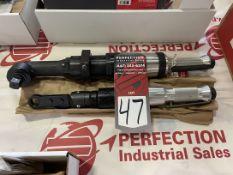 Lot Comprising GARDNER DENVER C3 Pneumatic Rachet Wrench Attachment and GARDNER DENVER 60RCA039AH6