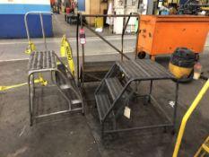 Lot Comprising (3) Aluminum Step Ladders, (5J)