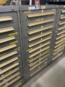 EQUIPTO 11-Drawer Modular Cabinet, (Tool Crib)