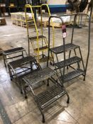 Lot Comprising (5) Assorted Step Ladders, (23O)