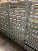STANLEY VIDMAR 12-Drawer Modular Cabinet, (Tool Crib)