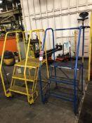 Lot Comprising (2) COTTERMAN 3-Step Safety Ladders, (5J)