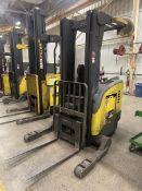 CROWN RR5020-45 4,500 Lb. Electric Narrow Aisle Single Reach Truck, s/n 1A230771, 36V