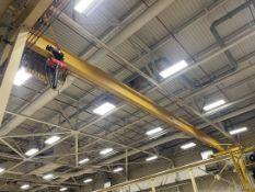 2-Ton UESCO Bridge Crane, Approx. 54' Span, w/ 2-Ton CM Lodestar Electric Hoist w/ Remote
