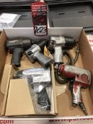 """Lot Comprising Assorted Pneumatic Impacts, 1/2"""" Drive, (25G)"""