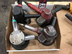 Lot Comprising (4) Pneumatic Angle Grinders, (25G)