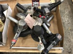 Lot Comprising (6) Pneumatic Angle Grinders, (25G)