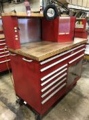 "Stor-Loc Modular Rolling Tool Cabinet, 60x30x66"" (13H)"