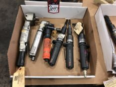 Lot Comprising Assorted Pneumatic Grinders and Angle Grinders, (25G)