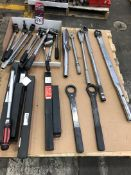 Lot Comprising Assorted Socket Wrenches, and Torque Wrenches, (25F)