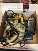Lot Comprising Assorted DeWalt, B&D, And Bosch Electric Drills, (25G)