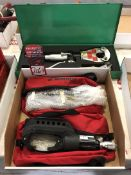 Lot Comprising (2) Burndy Y46WSBH Hydraulic Remote Crimping Tool, and (1) Greenlee Dieless