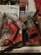 Lot Comprising Assorted Milwaukee Electric Drills (25G)