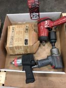 Lot Comprising Assorted Pneumatic Impacts, (25G)