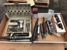 Lot Comprising Assorted Pneumatic Chisels, (25G)