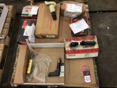 Lot New Pneumatic Angle Grinders and Drills, (7S)