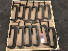 Lot C-Clamps, (5G)