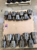 Lot Comprising (20) Assorted CAT 50 Tool Holders, (25E)