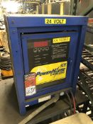 POWERHOUSE 18920P015305W, 24V Battery Charger, s/n 371202180, (13H)