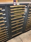 Equipto Ball Bearing Drawer Tool Cabinet, w/ Contents, (25G)