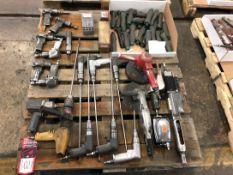 Lot Pneumatic Drills, Angle Grinders, and Grinders, (7S)
