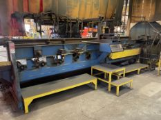 CUTTINGS SYSTEMS- 10-Station Flame Cutting System, w/ JETLINE ZB-75DCB Benchmaster Positioner,