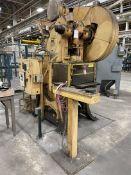 "V & O No. 5 55 Ton OBI Press, s/n 505-26, w/3"" Stk, 3.5"" Adj, 14"" SH, 90 SPM (E15)"
