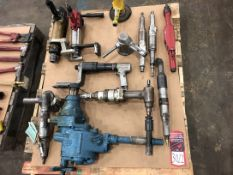 Lot Pneumatic Torque Impacts, Angle Grinders and Grinders, (7S)