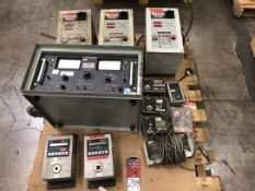 Lot Comprising (3) Rotor Tool Electric Torque Angle Controllers, and (1) HI Potronics HD100 Series