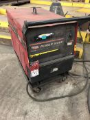 LINCOLN POWER WAVE 455M MIG Welding Power Source, w/ Lincoln POWERFEED 10M Wire Feed, on Free