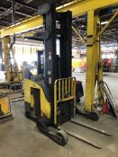 """CROWN RR 5000 Series 4,200 Electric Reach Truck, s/n 1A205969, 42"""" Forks, (Condition Unknown), ("""