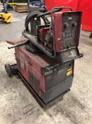 LINCOLN POWER WAVE 455M MIG Welding Power Source, w/ Lincoln Wire Feed, (3D)