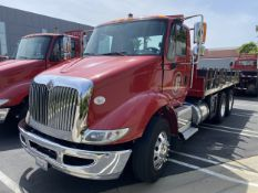 2016 INTERNATIONAL 18' Stake Bed Truck, VIN 3HTHXSNR6GN132508, 107,216 Miles at time of inspection