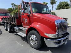 2016 INTERNATIONAL 18' Stake Bed Truck, VIN 1HTHXSNR4GH132503, 129,562 Miles at time of inspection