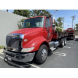 2016 INTERNATIONAL 18' Stake Bed Truck, VIN 3HTHXSNR1GN003236, 125,809 Miles at time of inspection