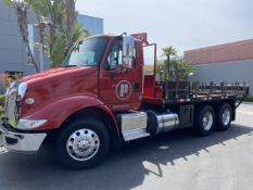 2016 INTERNATIONAL 18' Stake Bed Truck, VIN 3HTHXSNR2GN003228, 122,350 Miles at time of inspection