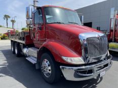 2016 INTERNATIONAL 18' Stake Bed Truck, VIN 3HTHXSNR9GN132471, 131,736 Miles at time of inspection