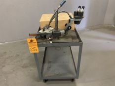 Stereo Star Microscope on stand with Cart. .7X - 4.2X